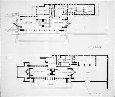 Marvellous Robie House Floor Plan Ideas Ideas house design