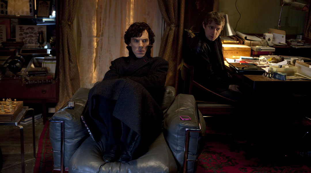 """""""Sherlock"""" The Great Game Quotes 